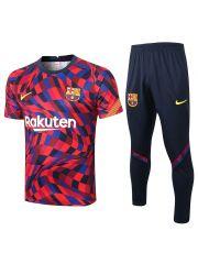 Мужской тренировочный костюм трехцветный ФК Барселона