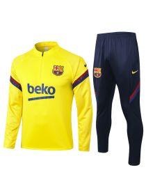 Спортивный костюм желто-черный Барселона