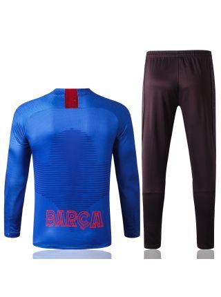 Спортивный костюм сине-черный Барселона