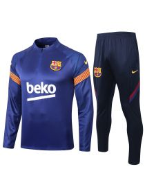 Спортивный костюм синий с темно-синим Барселона