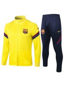 Спортивный костюм желто-черный Барселона с молнией