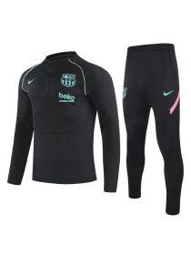Спортивный костюм черно-розово-мятный Барселона