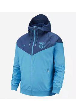 Ветровка голубо-синяя Барселона