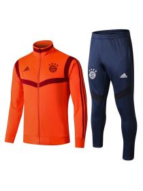 Мужской спортивный костюм оранжево-синий ФК Бавария Мюнхен