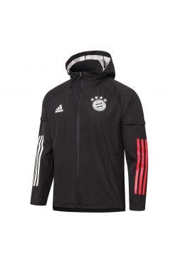 Мужская спортивная ветровка черная ФК Бавария Мюнхен