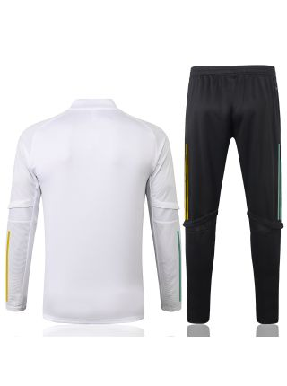 Спортивный костюм бело-черный Селтик с молнией