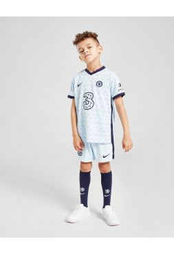 Футбольная форма детская гостевая Челси 2020-2021