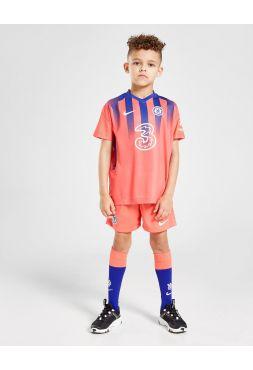 Футбольная форма детская резервная Челси 2020-2021