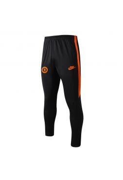 Мужские спортивные штаны черно-оранжевые ФК Челси
