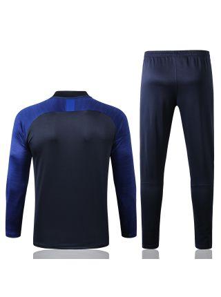 Спортивный костюм темно-синий с синим Челси