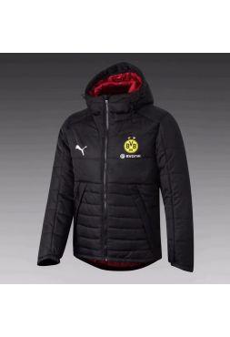 Куртка черно-красная Боруссия Дортмунд