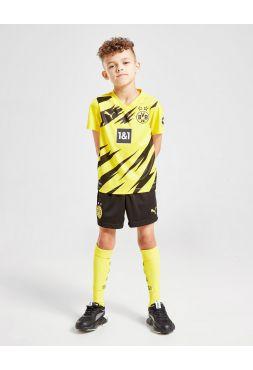Футбольная форма детская домашняя Боруссия 2020-2021
