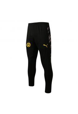 Мужские спортивные штаны черно-серые ФК Боруссия Дортмунд