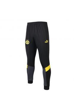Мужские спортивные штаны черно-желтые ФК Боруссия Дортмунд