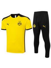 Мужской тренировочный костюм желто-черный ФК Боруссия Дортмунд