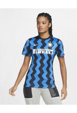Футбольная форма женская домашняя Интер 2020-2021