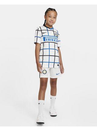 Футбольная форма детская гостевая Интер 2020-2021