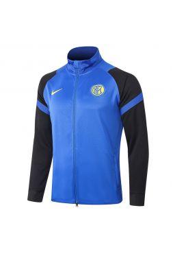 Мужская спортивная олимпийка сине-черная ФК Интер Милан