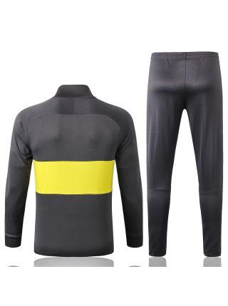Спортивный костюм в желтую полоску Интер Милан с молнией