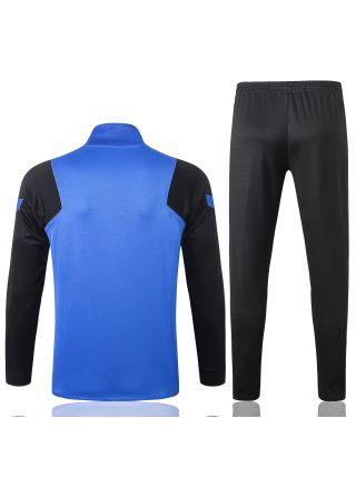 Спортивный костюм сине-черный Интер Милан с молнией