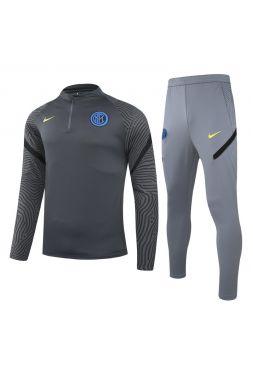 Спортивный костюм серый Интер Милан