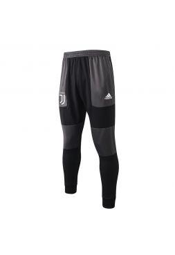 Мужские спортивные штаны черно-серые ФК Ювентус