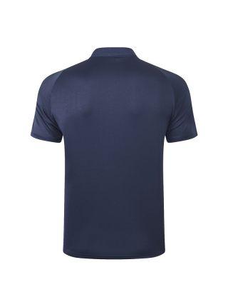 Мужское спортивное поло темно-синее ФК Ювентус