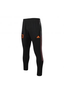 Мужские спортивные штаны черно-оранжевые ФК Ювентус