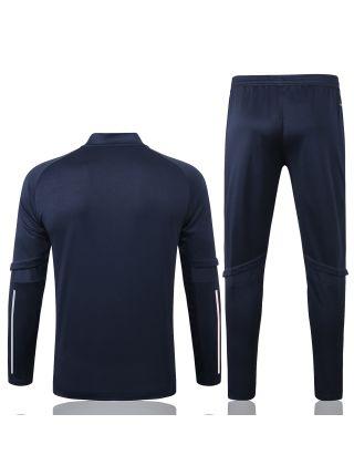 Спортивный костюм темно-синий Ювентус с молнией