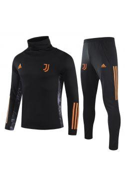 Спортивный костюм черно-оранжевый Ювентус