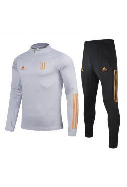 Спортивный костюм серо-черно-оранжевый Ювентус