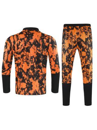 Спортивный костюм оранжевый в черное пятно Ювентус