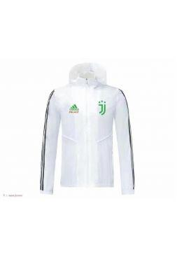 Ветровка бело-зеленая Ювентус
