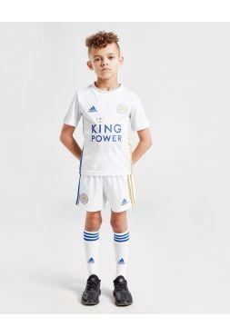 Футбольная форма детская гостевая Лестер Сити 2020-2021