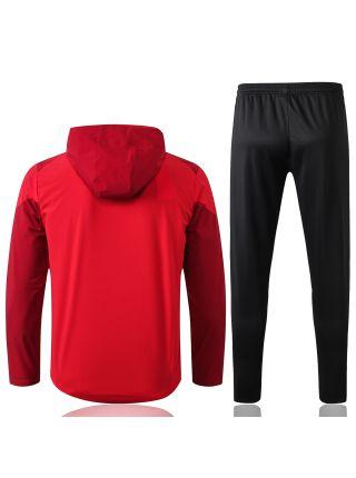 Спортивный костюм красно-черный Ливерпуль с капюшоном