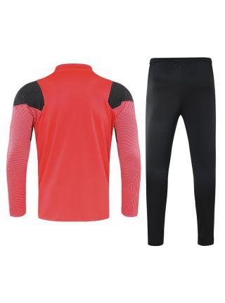 Спортивный костюм розово-черный Ливерпуль