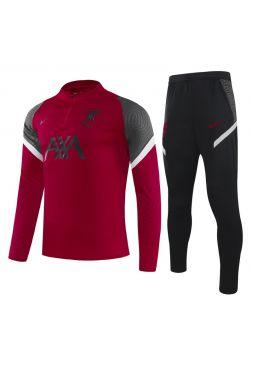Спортивный костюм красно-черный Ливерпуль