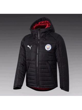 Куртка черно-красная Манчестер Сити