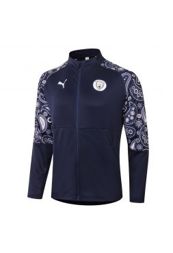 Мужская спортивная олимпийка синяя ФК Манчестер Сити