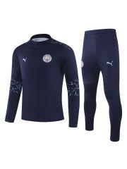 Спортивный костюм темно-синий Манчестер Сити
