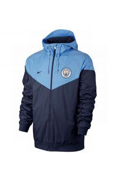 Ветровка бордово-темно-синяя Манчестер Сити