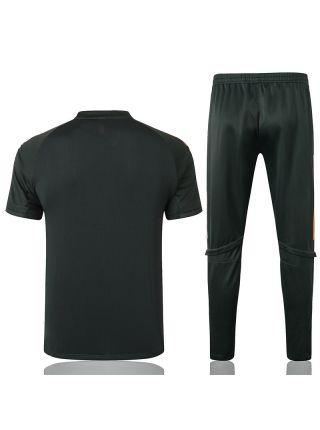 Мужской тренировочный костюм хаки ФК Манчестер Юнайтед