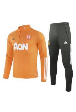 Спортивный костюм оранжевый хаки Манчестер Юнайтед