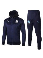 Спортивный костюм темно-синий Марсель с капюшоном