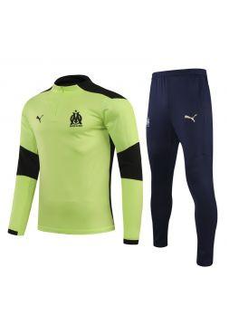 Спортивный костюм зелено-темно-синий Марсель