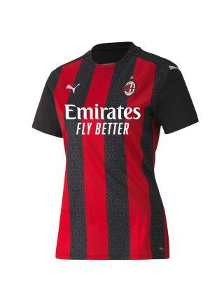 Футбольная форма женская домашняя Милан 2020-2021