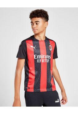 Футбольная форма детская домашняя Милан 2020-2021