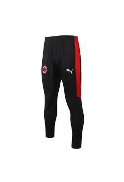 Мужские спортивные штаны черно-красные ФК Милан