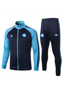 Спортивный костюм синий с темно-синим Наполи с молнией
