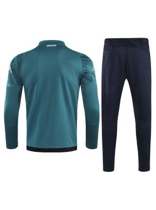Спортивный костюм зелено-черный Наполи
